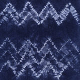 Batik tinto materiale Shibori fotografia stock