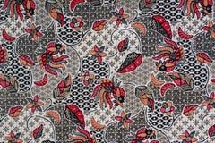 Batik. Unique modern batik fabric from indonesia stock photography