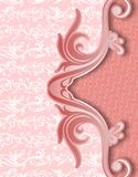 Batik vermelho abstrato yogyakarta da tampa Fotografia de Stock Royalty Free