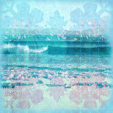 batika surfować tło ilustracja wektor