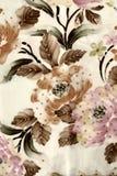 Batikbakgrund med tygtextur Arkivbilder
