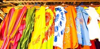 batikbeautifullkläder Arkivbilder