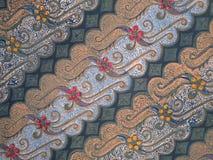 Batikbeschaffenheit Lizenzfreies Stockbild
