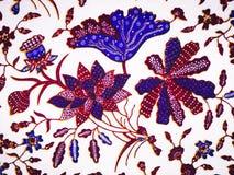 Batikbeschaffenheit und -muster Lizenzfreie Stockfotos