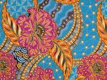 Batikbeschaffenheitshintergrund Stockbilder