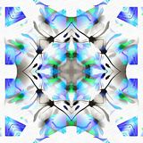 Batikcaleidoscoop met Kers royalty-vrije illustratie