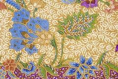 batikdesign Arkivfoto