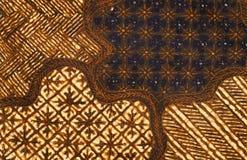 batikdesign Arkivbilder
