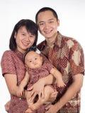 Batikfamilie Stockbilder