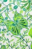 batikgarnering stock illustrationer