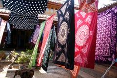 Batikgewebe stock abbildung