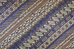 Batikgewebemuster Lizenzfreie Stockbilder