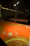batikindustrimålning Royaltyfri Foto