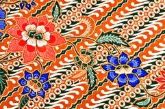 batikjavanesemodell Royaltyfri Foto