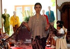 Batikkleidung Stockfoto