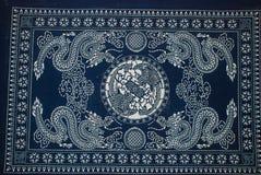 Batikmålning Arkivfoto