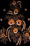 batikmalaysian Arkivbild