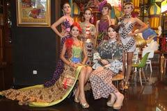 Batikmanier Stock Foto's