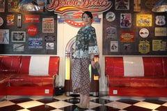 Batikmanier Stock Fotografie