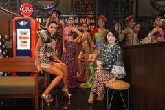Batikmanier Royalty-vrije Stock Afbeelding