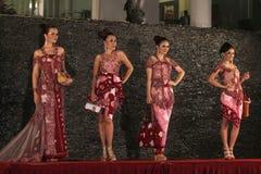 Batikmode Arkivfoto