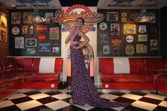 Batikowa moda Zdjęcia Royalty Free