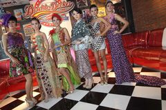 Batikowa moda Fotografia Royalty Free