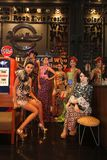 Batikowa moda Zdjęcia Stock