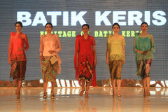 Batikowa moda Fotografia Stock