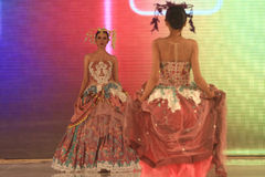 Batikowa moda Zdjęcie Royalty Free
