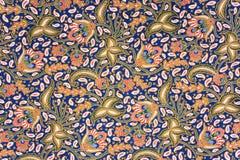 batikowi indonezyjskiego sarongi Obrazy Royalty Free