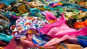 Batikowy rynek Obraz Royalty Free