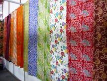 Batikowy sklep Zdjęcie Royalty Free