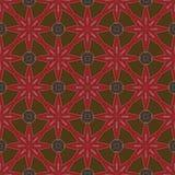 Batikpatroon en computerverwerking Stock Fotografie