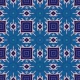 Batikpatroon en computerverwerking Royalty-vrije Stock Afbeeldingen