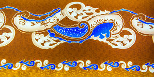 Batiksamenvatting stock afbeelding