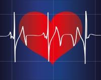 Batimento cardíaco Fotografia de Stock