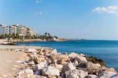 Batis beach port Stock Images