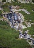 Batizovske siklawa w Wysokim Tatras, Sistani Zdjęcie Royalty Free