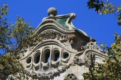 ³ Batllà Касы, Барселона Стоковое Изображение RF