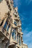 Batllo House in Barcelona royalty free stock images