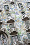 Batllo House by Gaudi, Barcelona Stock Photos