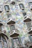 Batllo House by Gaudi, Barcelona Stock Photos