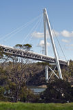 Batman Bridge crossing Tamar River, Tasmania Royalty Free Stock Images