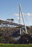 Batman Bridge crossing Tamar River, Tasmania Royalty Free Stock Images