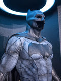 Batman costume. On display as a promotion for the movie Batman v Superman: Dawn of Justice in Hong Kong royalty free stock image