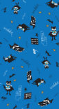 Batman fun cartoon boy seamless pattern Stock Photos