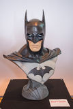 Batman head chest model on display Royalty Free Stock Images
