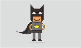 Batman karton Zdjęcia Royalty Free