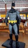 Batman model at Wat samarn temple Stock Photo